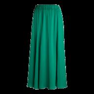 green womens maxi skirt