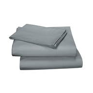 grey cotton sheets