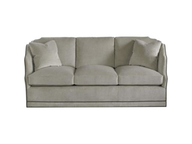 grey white sofa