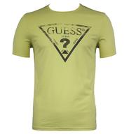 guess green mens shirt