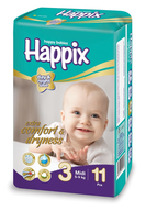 happix midi diapers suppliers