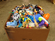 hard toys box in bulk