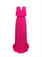 wholesale hot pink maxi bcbq dress