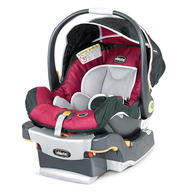 infant car seat pink