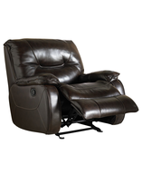 closeout leather glider