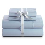light blue bed sheets