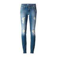 discount light blue ripped skinny jeans