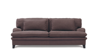 overstock light brown sofa