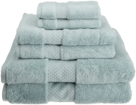 light green towel set