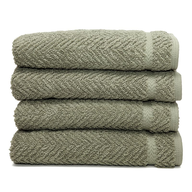 light olive towels