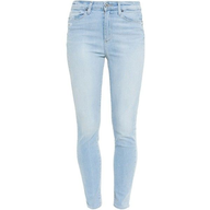 mango skinny high waist jeans pants