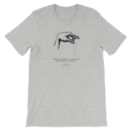 overstock men grey t shirt