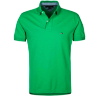 discount mens green tommy hilfiger polo