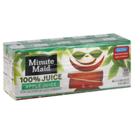 minute maid apple juice pack