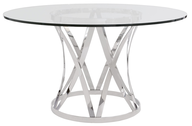 modern dining table clear truckloads