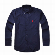 navy ralph lauren dress shirt