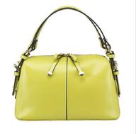 bulk neon green handbag
