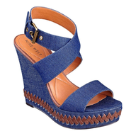 clearance nine west blue jean wedges