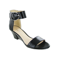 salvage nine west sandal black