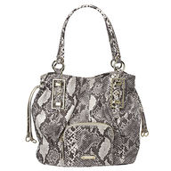 nine west snakeskin bag
