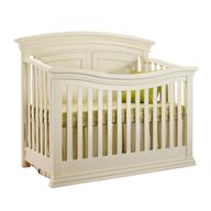 off white baby crib