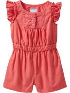 old navy=pink romper