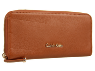 orange calvin klein wallet