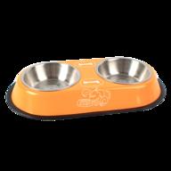 wholesale liquidation orange pet bowl