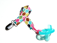 pacifier with holder