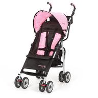 pink black stroller