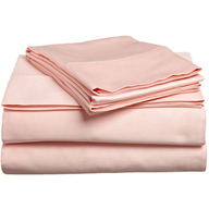 pink egyptian cotton bed sheets in bulk