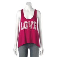pink love shirt