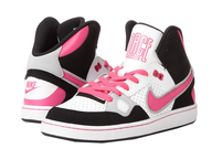 pink nike sneakers for kids