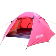 pink tent