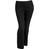 plus dress pants black