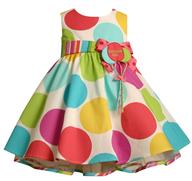 closeout poka dot dress