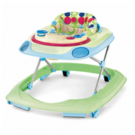 polka dots baby walker