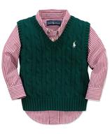 closeout polo boys vest