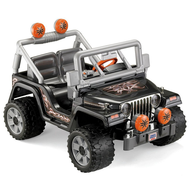 salvage power wheels tough talking jeep wrangler
