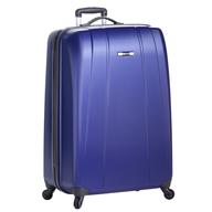 purple hardcover luggage