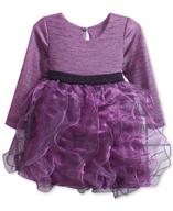 purple ruffle dress suppliers