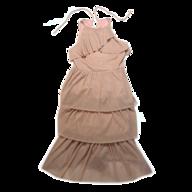 salvage rachel roy beige dress
