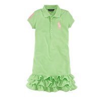 ralph lauren green dress
