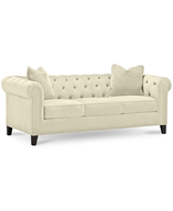 rayna fabric sofa shelf pulls