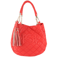closeout red bebe purse
