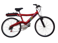 clearance red bike