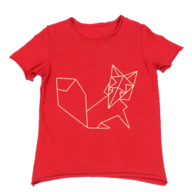 red childrens tee
