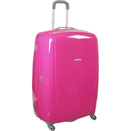 samsonite brightlites pink luggage