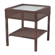 side table brown