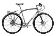 silver adult bike shelf pulls